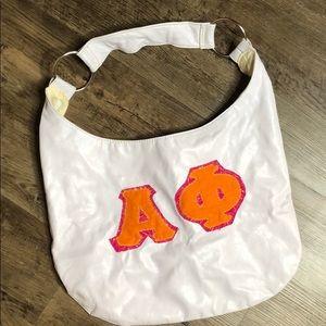 Alpha phi large purse bag book bag laptop bag